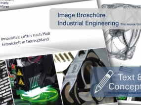 Image Broschüre: Industrial Engineering, Text & Konzept
