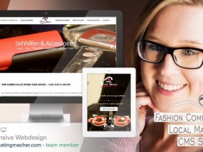 Responisve Webdesign: Optiker, Lokales Marketing